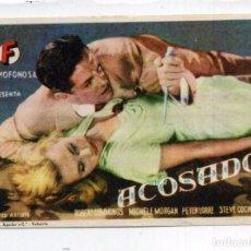 Cine: ACOSADOS, CON PETER LORRE. C/I.. Lote 96053375