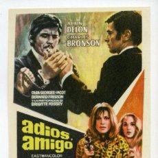 Cine: ADIOS, AMIGO, CON CHARLES BRONSON. S/I.. Lote 96056439