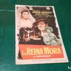 Cine: PROGRAMA DE MANO ORIGINAL - LA REINA MORA - SIN PUBLICIDAD CINE . Lote 96352979