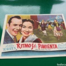 Cine: PROGRAMA DE CINE GRANDE. RITMO, SAL Y PIMIENTA. Lote 96441622