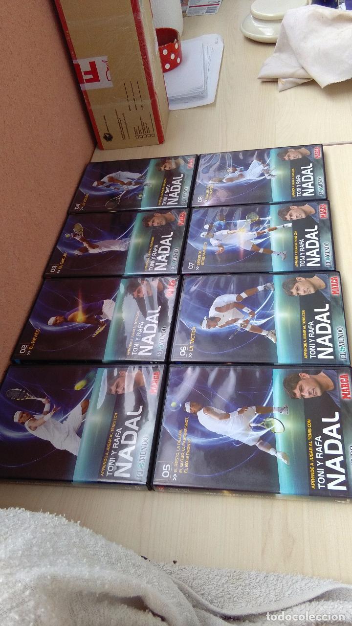DIECISIETE DVD,S DE APRENDIZAJE TENIS, FUTBOL, ESQUÍ Y DARDOS. (Cine - Folletos de Mano - Deportes)