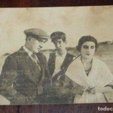 Cine: PROGRAMA DE CARTÓN. CINE MUDO. AÑO 1927. NOCHE DE ALBORADAS, CINE MUDO, CON PUBLICIDAD DEL TEATRO PR. Lote 96736219