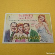 Kino - Las modelos Rita Hayworth Gene Kelly Folleto de mano - 96768239