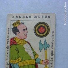 Cine: FOLLETO CINE EL REY DEL DINERO. ANGELO MUSCO. MURCIA PARQUE . PLAYA DE MURCIA. 1943. Lote 96802227