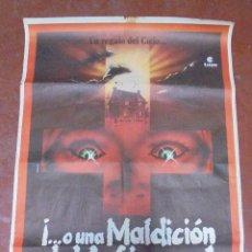 Cine: CARTEL. UN REGALO DEL CIELO O UNA MALDICION DEL INFIERNO. THE GODSEND. 100 X 70CM. Lote 97026423