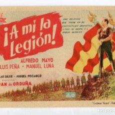 Cine: A MÍ LA LEGIÓN, CON ALFREDO MAYO. S/I.. Lote 97330771