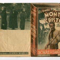 Cine: EL CONDE DE MONTECRISTO, CON ROBERT DONAT. S/I.. Lote 97351479