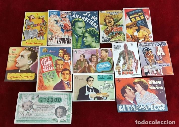 Cine: COLECCIÓN DE 1041 PROGRAMAS DE CINE. ESPAÑA. AÑOS 30-60. - Foto 5 - 97351199