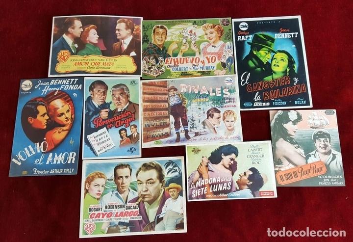 Cine: COLECCIÓN DE 1041 PROGRAMAS DE CINE. ESPAÑA. AÑOS 30-60. - Foto 6 - 97351199