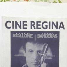 Cine: SILVESTER STALLLONE PROGRAMA LOCAL ASESINOS.. Lote 97440275