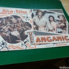 Cine: PROGRAMA DE CINE GRANDE TANGANICA. CON PUBLICIDAD DEL CINE OLIMPIA DE LA BISBAL. Lote 97492386