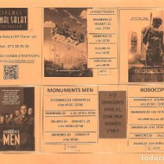 Cine: PROGRAMA LOCAL DE CINE. Lote 97507107