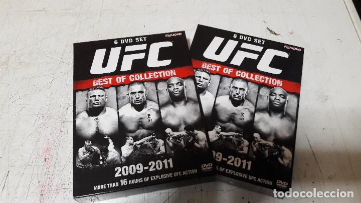 UFC BEST OF COLLECTION 2009-2011 FIGHT DVD 6 DVD BOX PROMOCIONAL BUEN ESTADO (Cine - Folletos de Mano - Deportes)