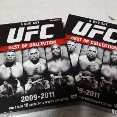 Cine: UFC BEST OF COLLECTION 2009-2011 FIGHT DVD 6 DVD BOX PROMOCIONAL BUEN ESTADO. Lote 97511487