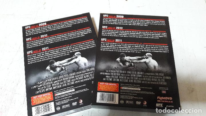 Cine: UFC best of collection 2009-2011 fight dvd 6 dvd box promocional buen estado - Foto 4 - 97511487