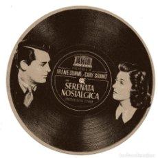 Cine: SERENATA NOSTALGICA CARY GRANT IRENE DUNNE 1941 PROGRAMA TROQUELADO MERCURIO. Lote 97540123
