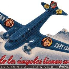 Cine: SOLO LOS ANGELES TIENEN ALAS CARY GRANT JEAN ARTHUR RITA HAYWORTH 1939 PROGRAMA TROQUELADO MERCURIO. Lote 97540179