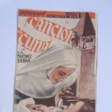 Cine: CANCIÓN DE CUNA. Lote 97714167