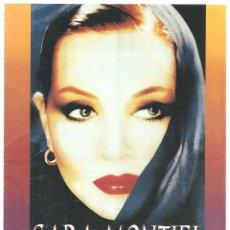 Cine: SARA MONTIEL EN CONCIERTO PROGRAMA DOBLE CENTRO CULTURAL DE LA VILLA 1998. Lote 97722863