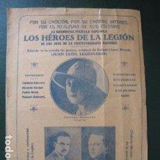 Cine: LOS HÉROES DE LA LEGIÓN. Lote 97731075