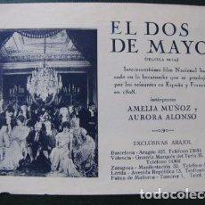 Cine: EL DOS DE MAYO. Lote 97732763