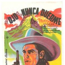 Cine: EL OJO QUE NUENCA DUERME - LA MONTAÑA MISTERIOSA CP. Lote 98160763