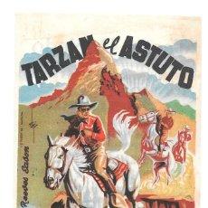 Cine: LA MONTAÑA MISTGGERIOSA TARZAN EL ASTUTO CON PUBLICIDAD. Lote 98161819