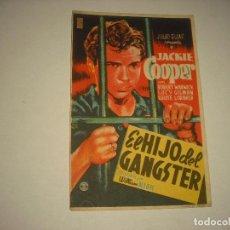 Cine: EL HIJO DEL GANSTER . PRINCIPAL CINEMA. Lote 98269039
