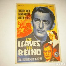 Cine: LAS LLAVES DEL REINO . CINEMA LA RAMBLA. Lote 98279339