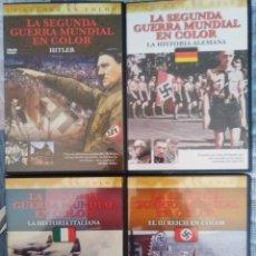 Cine: LA SEGUNDA GUERRA MUNDIAL EN COLOR.EL EJE FASCISTA. Lote 98378943