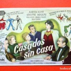 Cine: CASADOS SIN CASA, CON POLA NEGRI.CINEMA ELISEOS. Lote 98435683