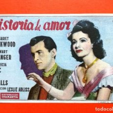 Cine: HISTORIA DE AMOR. SENCILLO DE CHAMARTÍN.CINEMA ALHAMBRA. Lote 98436723