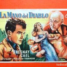 Cine: LA MANO DEL DIABLO. SENCILLO DE CEA.CINEMA ELISEOS. Lote 98438011