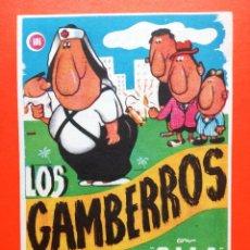 Cine: FOLLETO DE MANO, LOS GAMBERROS, GILA.--TEATRO IRIS--. Lote 98478023