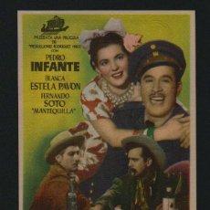 Cine: COYOTES EN LA HUASTECA.PROGRAMA SENCILLO CON PUBLICIDAD.TEATRO ANDALUCIA.CÁDIZ.. Lote 98550431