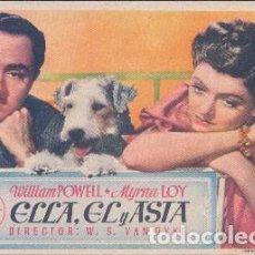 Cine: ELLA, ÉL Y ASTA (CON PUBLICIDAD). Lote 98589555
