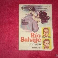 Cine: RÍO SALVAJE - MONTGOMERY CLIFT - LEE REMICK. Lote 98596035