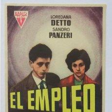 Cine: EL EMPLEO, CON LOREDANA DETTO. Lote 98772883