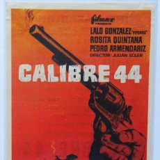 Cine: CALIBRE 44, CON LALO GONZALEZ, ROSITA QUINTANA, PEDRO ARMRNDARIZ. Lote 98794231