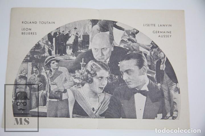 Cine: Programa de Cine Doble - Rouletabille Aviador - Equitable Films, Año 1935 - Foto 2 - 98826099