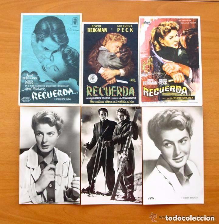 Cine: Cine - Ingrid Bergman - 97 programas y postales - Ver fotos y explicación interior - Foto 2 - 98827403