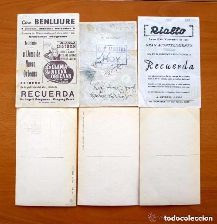 Cine: Cine - Ingrid Bergman - 97 programas y postales - Ver fotos y explicación interior - Foto 3 - 98827403