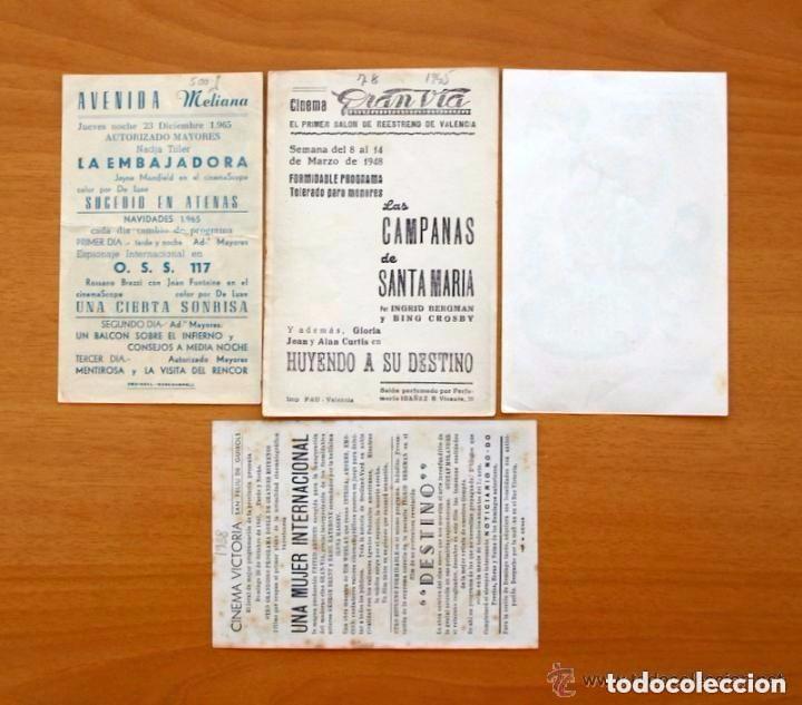 Cine: Cine - Ingrid Bergman - 97 programas y postales - Ver fotos y explicación interior - Foto 5 - 98827403