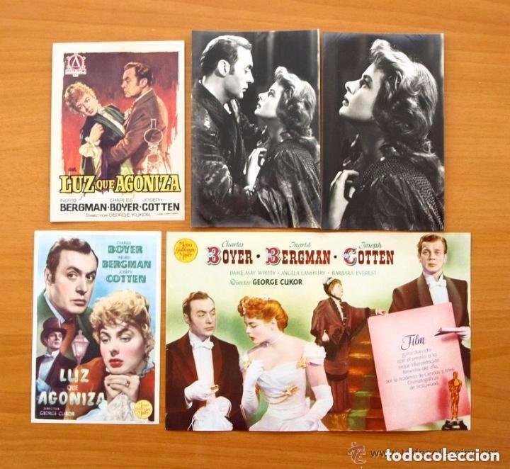 Cine: Cine - Ingrid Bergman - 97 programas y postales - Ver fotos y explicación interior - Foto 6 - 98827403