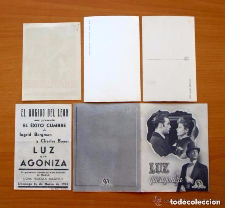 Cine: Cine - Ingrid Bergman - 97 programas y postales - Ver fotos y explicación interior - Foto 7 - 98827403