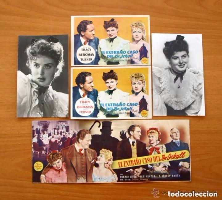 Cine: Cine - Ingrid Bergman - 97 programas y postales - Ver fotos y explicación interior - Foto 14 - 98827403