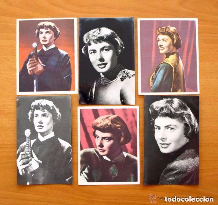 Cine: Cine - Ingrid Bergman - 97 programas y postales - Ver fotos y explicación interior - Foto 20 - 98827403