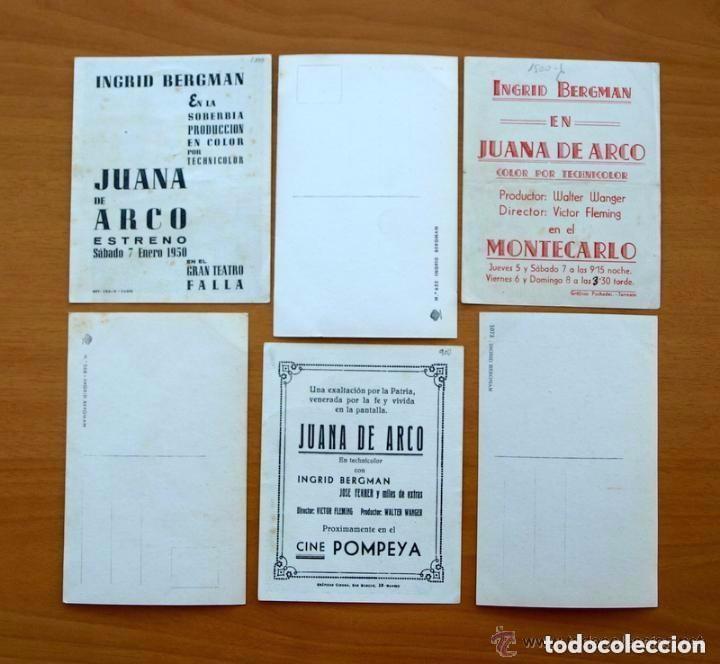 Cine: Cine - Ingrid Bergman - 97 programas y postales - Ver fotos y explicación interior - Foto 21 - 98827403