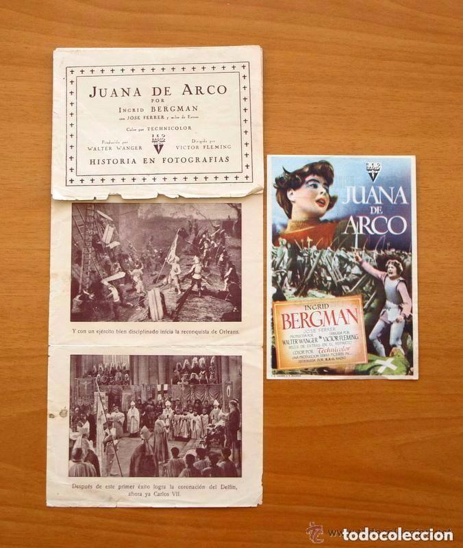 Cine: Cine - Ingrid Bergman - 97 programas y postales - Ver fotos y explicación interior - Foto 22 - 98827403