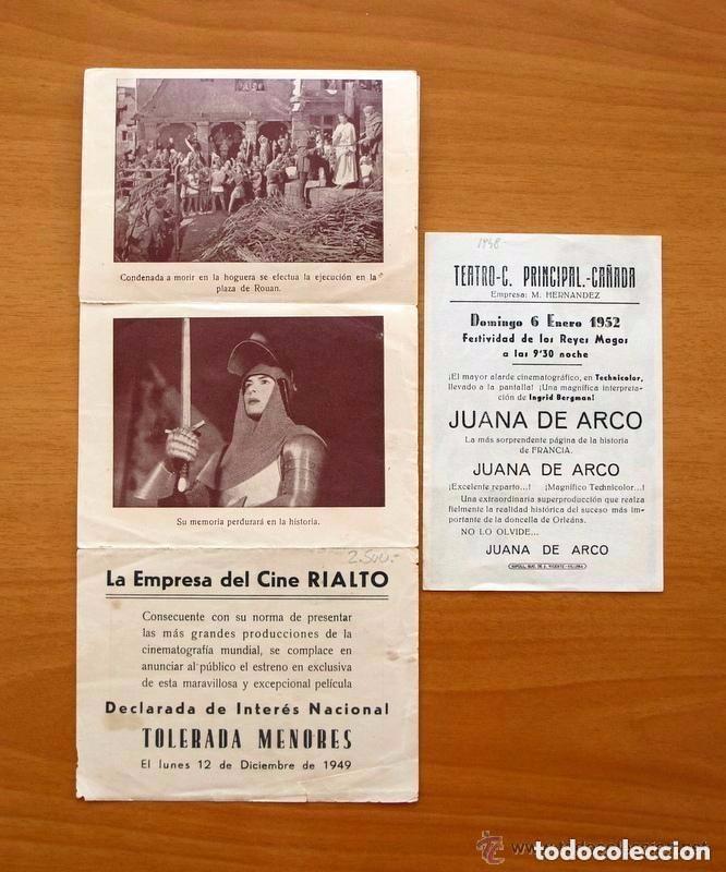 Cine: Cine - Ingrid Bergman - 97 programas y postales - Ver fotos y explicación interior - Foto 23 - 98827403